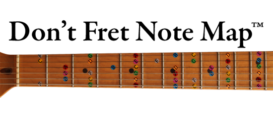 Learn How To Play Guitar With Dont Fret Productions Guitar Neck And