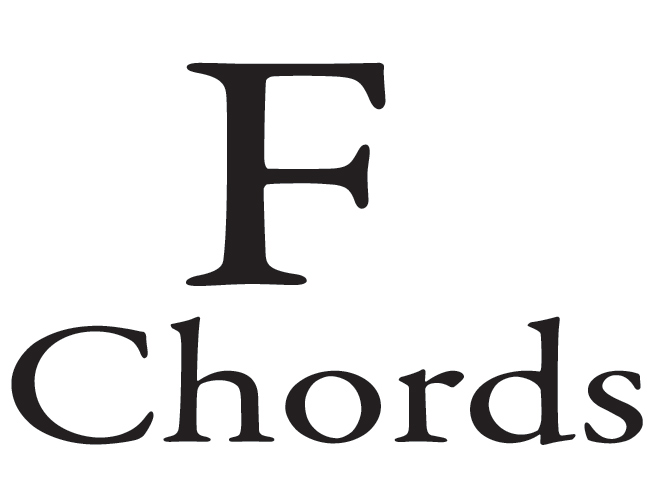 F Chords for Guitar